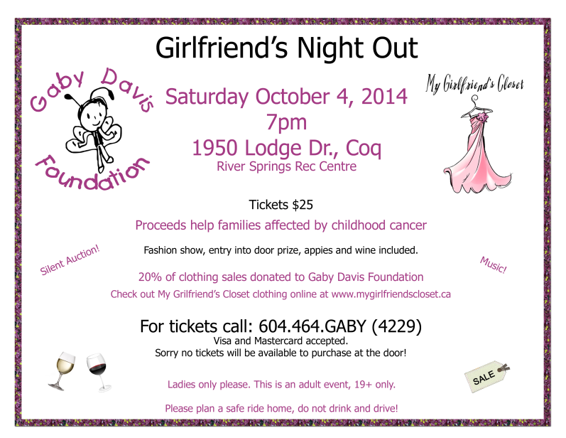 Girls Night Out October 2014