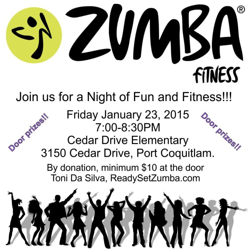 Zumba Party Fundraiser!!